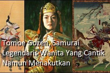 Tomoe Gozen, Samurai Legendaris Wanita Yang Cantik Namun Menakutkan